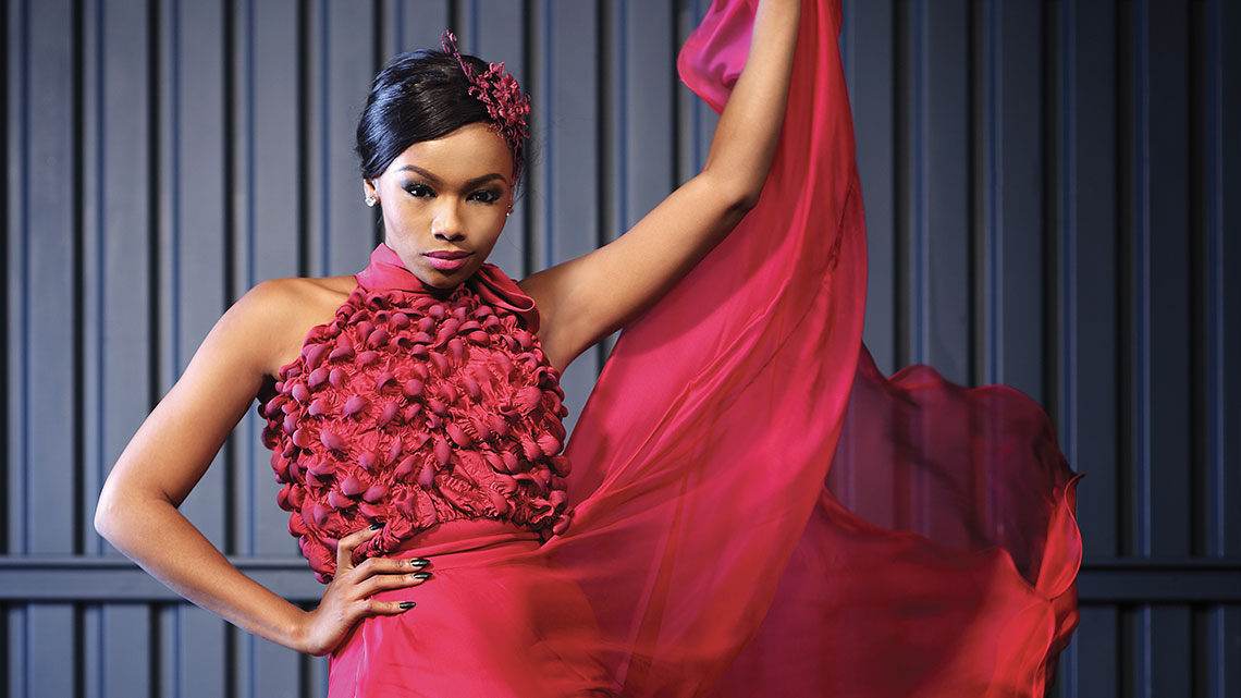 Bonang Matheba photographed Nicolle Philips