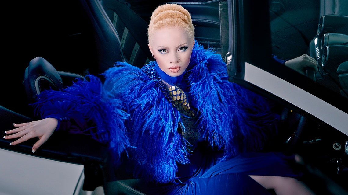 Thando Hopa photographed by Nick Boulton